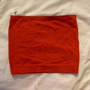 Urban Outfitters Tops - Red Tube Top Urban Outfitters